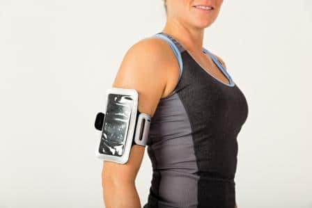 Q-LINN telefoon armband